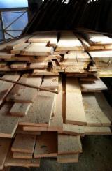 Laubholz  Blockware, Unbesäumtes Holz - Einseitig besäumte Bretter, Kirsche (Europäische Wild-)