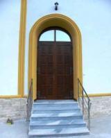 Uşi, Ferestre, Scări Romania - Porti, usi, banci pentru biserici din lemn stratificat
