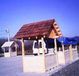 Garden Products - Fir (abies Alba, Pectinata) Kiosk - Gazebo in Romania