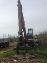 Solmec Woodworking Machinery - Used Solmec S75 1990 Log Handling Equipment For Sale Italy