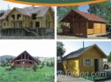 Wood Houses - Precut Timber Framing Spruce Picea Abies - Whitewood - Wooden Houses Spruce  - Whitewood Romania