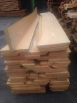 Hardwood  Unedged Timber - Flitches - Boules For Sale Germany - Beech lumber (unedged)