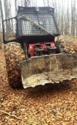 Skidding - Forwarding, Forest Tractor