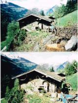 Wood Houses - Precut Timber Framing For Sale Italy - PREFAB HOUSE IN ORIGINAL RECLAIMED FIR (1900-1910)