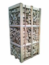 Firelogs - Pellets - Chips - Dust – Edgings Oak European - FIREWOOD - Boxes 1.8 MP HORNBEAN OAK ALDER HARDWOOD