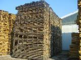 Laubholz  Blockware, Unbesäumtes Holz - Loseware, Kirsche (Europäische Wild-)