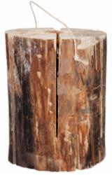 Produse Si Decoratiuni Gradina Din Lemn En Gros - Fordaq - Pasune, Zweedse fakkel/ Swedish fire log