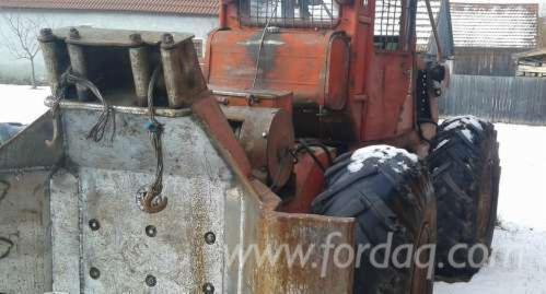 Tractor-Forestal-Usada-en