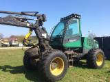 Used 2000 Timberjack 770 Harvester in Germany