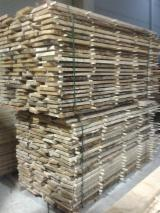 Hardwood  Unedged Timber - Flitches - Boules For Sale - OAK UNEDGED BOARDS