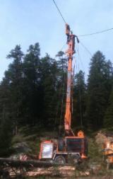 Used Forest Harvesting Equipment - Skidding - Forwarding, Mobile Cable Crane, Roppa