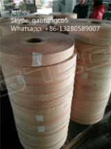 wood veneer edge banding for furniture, decoration, door
