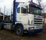 Used Forest Harvesting Equipment Romania - Street Vehicles, Short Log Truck