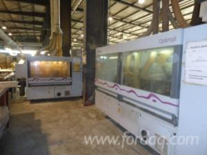 Used-2002-Homag-Linie-de-profilat-parchet-in
