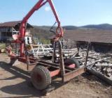 Used Forest Harvesting Equipment Romania - Street Vehicles, Moving-Floor Trailer