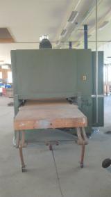 Schleifmaschinen - Poliermaschinen, Schleifmaschinen mit Schleifband, Verboom