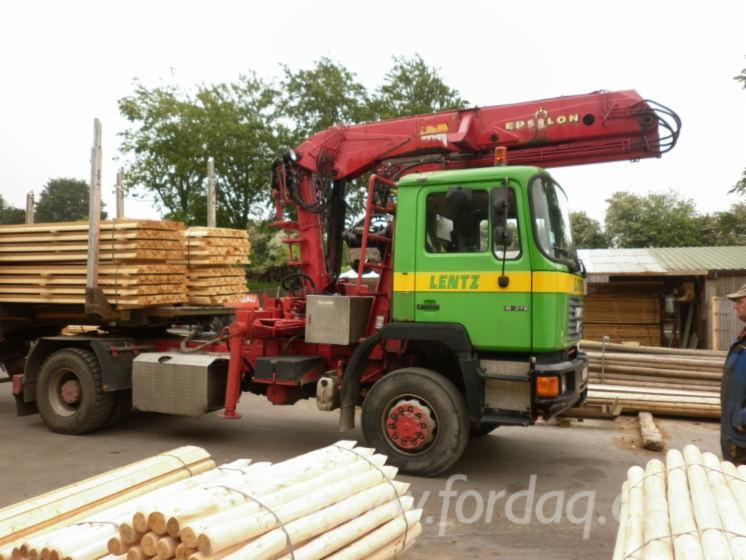 Used-Longlog-Truck-Man-372-ch-4x4-for