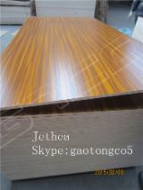 Wholesale  Fancy Decorative Plywood ISO-9000 China - Melamine laminated plywood for cabinets