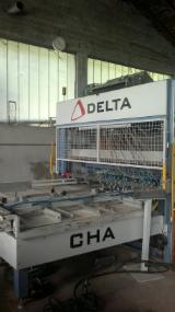 Used 1st transformation & woodworking machinery   Supplies Italy NAILING MACHINE DELTA CHA
