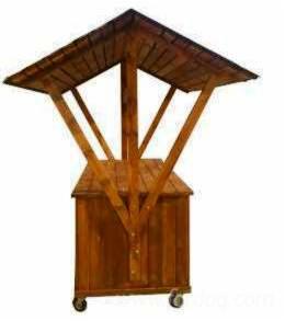 Venta kiosco puesto madera blanda europea rumania for Kioscos de madera baratos