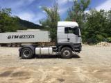 Oprema Za Šumu I Žetvu Kamion Za Prevoz Dužih Stabala - Kamion Za Prevoz Dužih Stabala MAN Polovna 2012 Rumunija