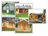 Wood Houses - Precut Timber Framing Pine Pinus Sylvestris - Redwood For Sale - Wooden log cabins, wooden houses, garden house