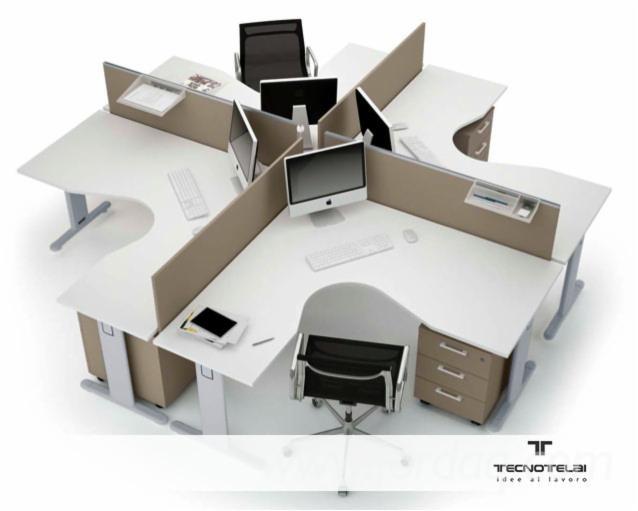 Vend ensemble de meubles pour bureau contemporain