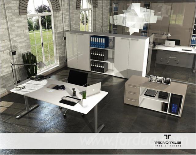 Vend ensemble de meubles pour bureau contemporain for Ensemble meuble bureau