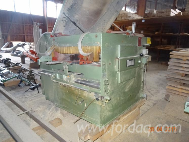 Used-PAUL--KME-2-1000R-Edging-and-Resaw-Combination-in