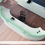 Meble Biurowe I Meble Do Biura Domowego Na Sprzedaż - Biurka Recepcyjne, Współczesne, 10 sztuki Reklama - 1 raz
