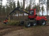 Used Forest Harvesting Equipment - Skidding - Forwarding, Harvester, Komatsu