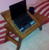 Mobilier Pentru Restaurant, Bar, Cafenea, Spital, Scoala - Masa lemn laptop E-table - 50 lei