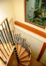 CE Certified Finished Products - Oak (european) Stairs from Romania