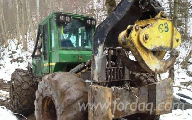 Used-2008-John-Deere-Articulated-Skidder-in