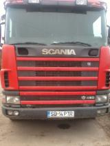 Used Forest Harvesting Equipment France - Street Vehicles, Longlog Truck, SCANIA