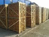Firewood, Pellets And Residues Air Dried 18 Months - FSC Beech Firewood/Woodlogs Cleaved 8-13 cm