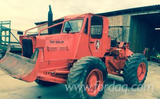 Selling-2-Used-Articulated-Skidders