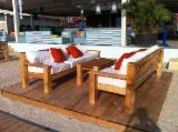 Restaurant Terrace Chairs Contract Furniture - Contemporary Fir (Abies Alba) Restaurant Terrace Chairs Romania