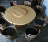 Restaurant Tables Contract Furniture - Contemporary, Fir (Abies alba, pectinata), Restaurant Tables, 1 pieces Spot - 1 time