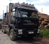 Used Forest Harvesting Equipment France - Street Vehicles, Longlog Truck