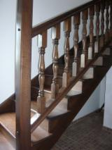Wood Doors, Windows And Stairs - Oak Stairs Romania