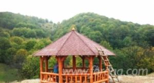 ISO-9000 Spruce Kiosk - Gazebo from Romania