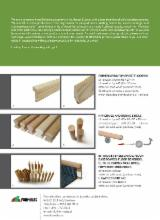 Wholesale Wood Furniture Components - Solid wood starcase handrails, dowels, bars and wooden mouldings