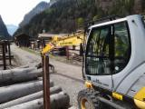 Used 1st Transformation & Woodworking Machinery - Transport/ Sorting/ Storage, Mobile Excavator, New Holland