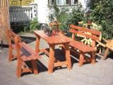 Contemporary Garden Furniture - Contemporary Fir (Abies Alba) Garden Sets Romania