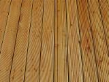 地板及户外板材 - 西伯利亚落叶松, 防滑地板(2面)