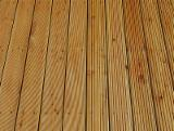 Flooring and Exterior Decking - Siberian Larch, Anti-Slip Decking (2 Sides)