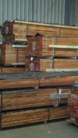 Lames De Terrasse À Vendre - Decking Muiracatiara KD (Tigerwood) 21 x145 / 21x120 mm S4S E4E