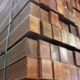 Tropical Wood  Sawn Timber - Lumber - Planed Timber For Sale - Bangkirai poles (AIR DRIED)