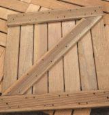 Prodotti Per Il Giardinaggio In Vendita - Bangkirai (Yellow Balau), Piastrelle di Legno per Giardino, FSC